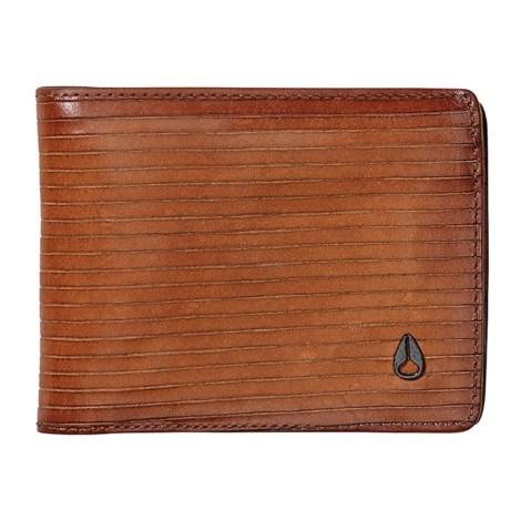 Nixon Arc SE Bifold Wallet - Leather (For Men) in Tan
