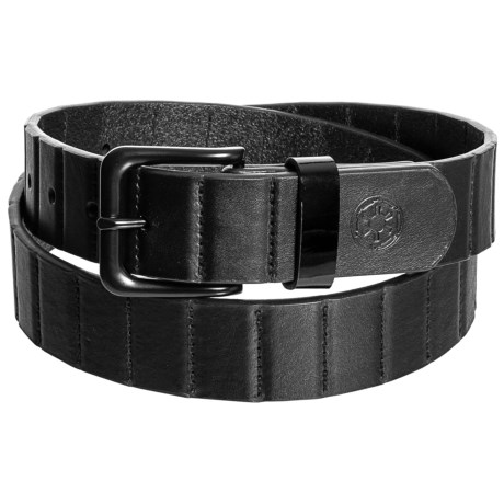 Nixon DNA Star Wars Belt - Leather (For Men) in Vader Black