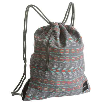 Nixon Everyday 15L Cinch Bag (For Women) in Gray Multi - Closeouts