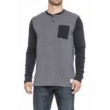 Nixon Iris Henley Shirt - Long Sleeve (For Men)