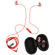 Nixon Micro Blaster Earbuds in Red - Closeouts