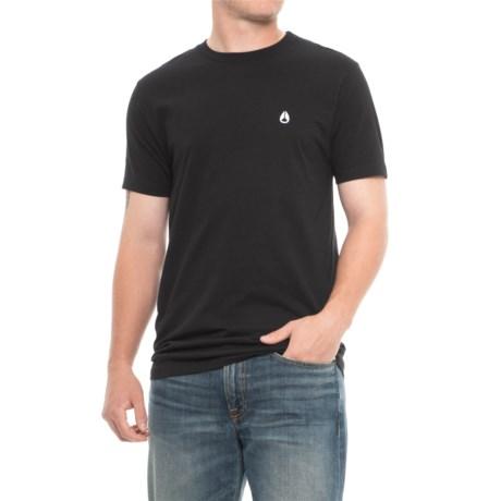 Nixon NW Berkeley T-Shirt - Short Sleeve (For Men) in Black