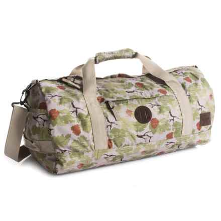 Nixon Pipes Duffel Bag in Khaki Camo - Closeouts