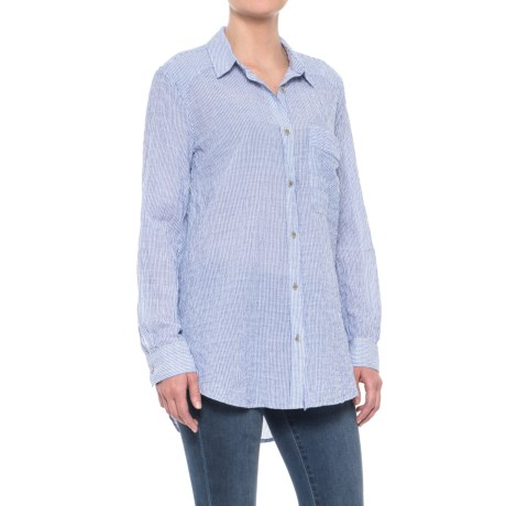 No Limits Stripe Shirt - Long Sleeve (For Women)