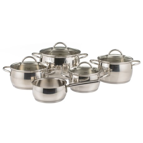 Nobile Stainless Steel Cookware Set - 9-Piece