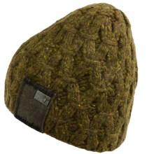Nobis Harley Beanie Hat - Lambswool Blend (For Men) in Wood - Closeouts