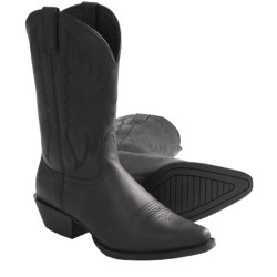 """Nocona Competitor Cowboy Boots - Leather, F-Toe, 11"""" (For Women) in Black"""