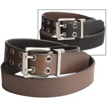 Nocona HD Xtreme Reversible Belt - Leather (For Men) in Black/Brown - Closeouts