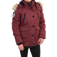 Noize Borge 15 Insulated Parka - Faux-Fur Hood (For Women) in Port - Closeouts