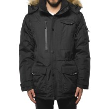 Noize Gabriel Parka - Insulated, Fleece Lined (For Men) in Black - Closeouts