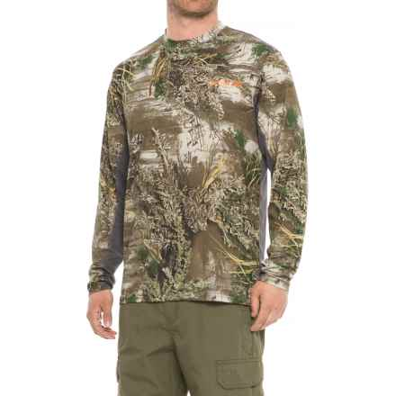 NOMAD Cooling T-Shirt - Long Sleeve (For Men and Big Men) in Realtree Max 1 - Closeouts
