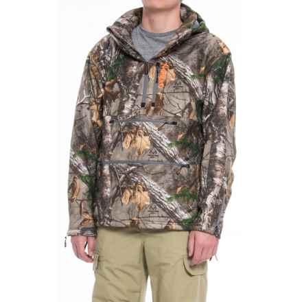 NOMAD Integrator 2.0 Windproof Fleece Jacket - Zip Neck (For Men and Big Men) in Realtree Xtra - Closeouts