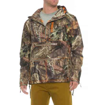 NOMAD Integrator Shell Hunting Jacket - Waterproof, Zip Neck (For Men) in Mossy Oak Break Up Country - Closeouts