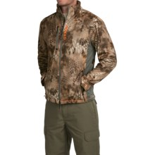 NOMAD Mergence Soft Shell Fleece Camo Jacket (For Men) in Kryptek Banshee - Closeouts