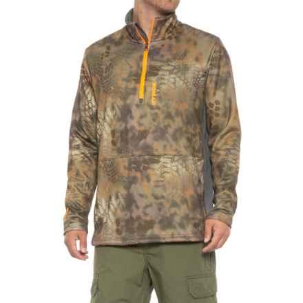 NOMAD Southbounder Camo Fleece Shirt - Zip Neck, Long Sleeve (For Men and Big Men) in Kryptek Banshee - Closeouts