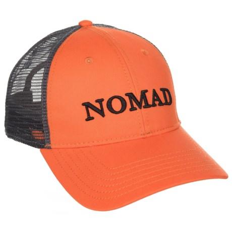 NOMAD Trucker Hat (For Men) in Blaze Orange