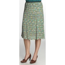 Nomadic Traders A-Line Moss Crepe Skirt (For Women) in Geo - Closeouts