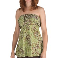 Nomadic Traders Alicia Batik Knit Shirt - Strapless (For Women) in Green Tea - Closeouts