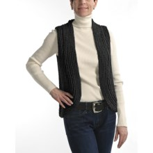 Nomadic Traders Anya Knit Vest (For Women) in Black - Closeouts