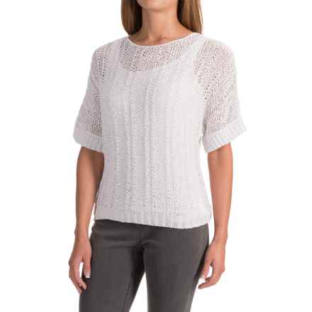 Nomadic Traders Apropos Brea Savvy Shirt - Short Sleeve (For Women) in White - Closeouts
