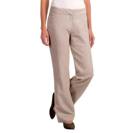 Nomadic Traders Apropos Checkers Linen Pants (For Women) in Linen - Closeouts
