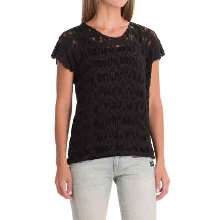 Nomadic Traders Apropos Checkers Ventana Shirt - Short Sleeve (For Women) in Black - Closeouts
