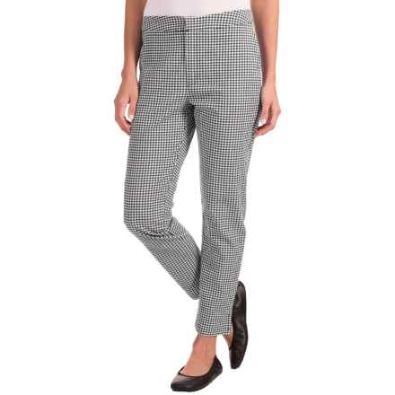 Nomadic Traders Apropos Gingham Ankle Pants (For Women) in Mini Check Black/White - Closeouts