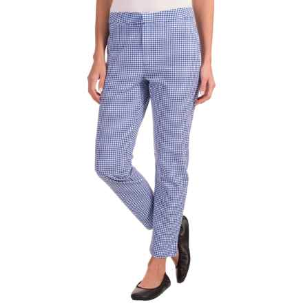 Nomadic Traders Apropos Gingham Ankle Pants (For Women) in Mini Check French Blue - Closeouts