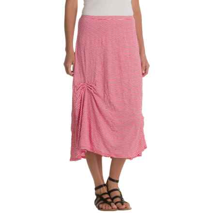 Nomadic Traders Apropos Having a Crush Striped Skirt (For Women) in Watermelon Stripe - Closeouts