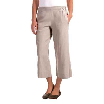 Nomadic Traders Apropos Linen Culotte Pants (For Women) in Linen - Closeouts