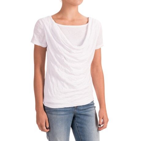 Nomadic Traders Apropos More Than a Crush Riva Shirt - Short Sleeve (For Women) in White