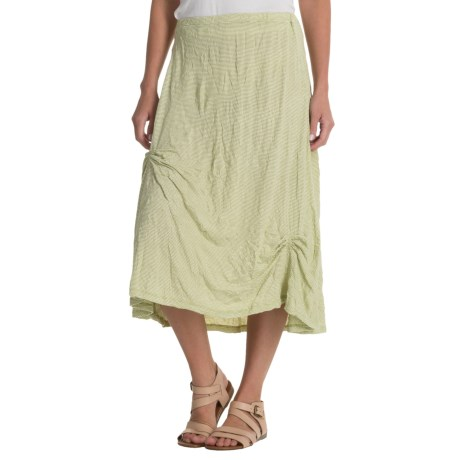 Nomadic Traders Apropos More than a Crush Skirt (For Women) in Celadon Mini