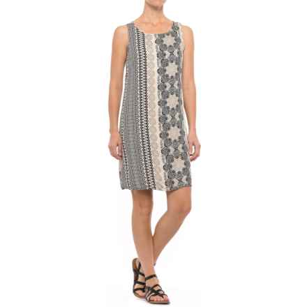 Nomadic Traders Apropos Print Sheath Dress - Sleeveless (For Women) in Taj - Closeouts