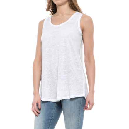 Nomadic Traders Apropos Promenade Linen Tank Top (For Women) in Ivory - Closeouts