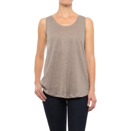 Nomadic Traders Apropos Promenade Linen Tank Top (For Women) in Taupe