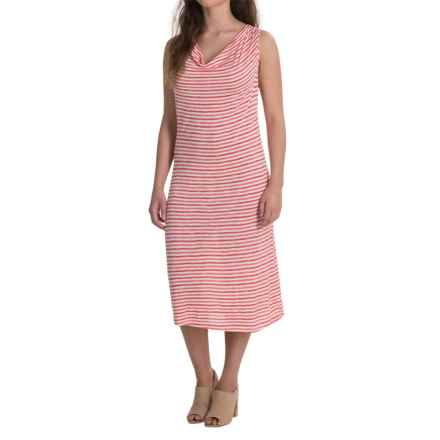Nomadic Traders Apropos Rita Dress - Sleeveless (For Women) in Salsa Stripe - Closeouts