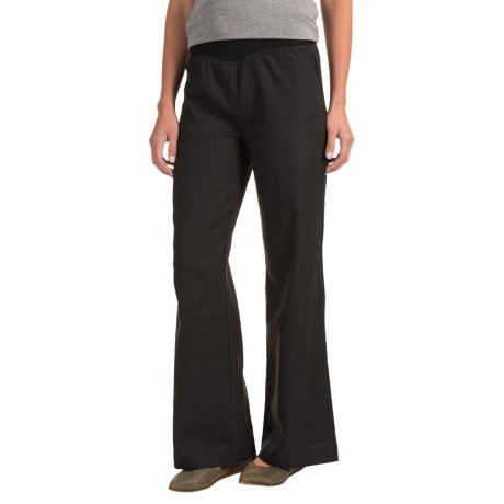 Nomadic Traders Apropos Streets of Tribeca Flare Pants (For Women) in Black