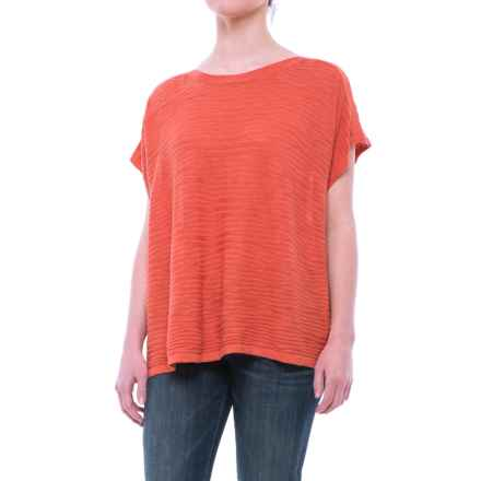 Nomadic Traders Apropos Ventana Poncho - Short-Sleeve (For Women) in Mandarin - Closeouts
