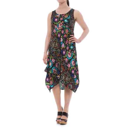 Nomadic Traders Apropos Yvette Dress - Sleeveless (For Women) in Lotus - Closeouts