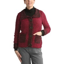 Nomadic Traders Audrey Jacket - Marled Yarns (For Women) in Ruby - Closeouts