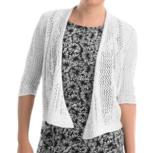 Nomadic Traders Away We Go Alexis Wrap Sweater (For Women) in White - Closeouts