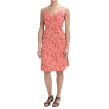 Nomadic Traders Away We Go Havana Palm Dress - Rayon (For Women) in Melon - Closeouts