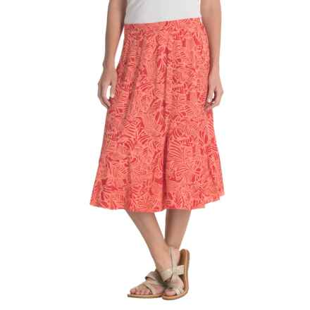 Nomadic Traders Away We Go Sundance Skirt (For Women) in Melon - Closeouts