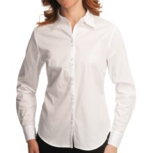 Nomadic Traders Bleecker St. French Laundry Cambridge Shirt - Long Sleeve (For Women) in White - Closeouts