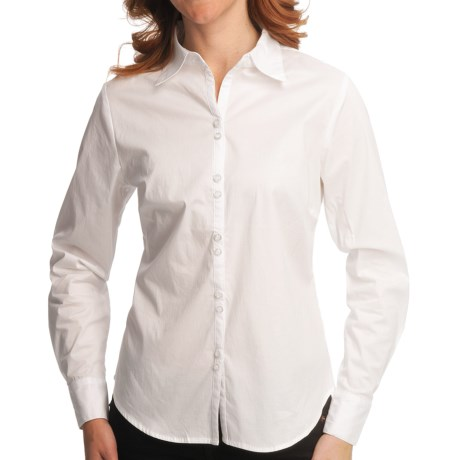 Nomadic Traders Bleecker St. French Laundry Cambridge Shirt - Long Sleeve (For Women) in White