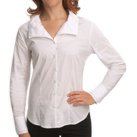 Nomadic Traders Bleecker St. French Laundry Shirt - Long Sleeve (For Women) in White