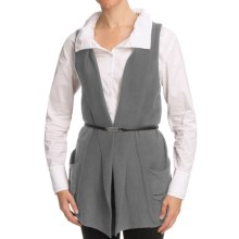 Nomadic Traders Bleecker St. Pocket Vest - Fine-Gauge Cotton (For Women) in Platinum - Closeouts