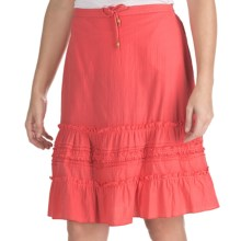 Nomadic Traders Breezy Skirt (For Women) in Coral - Closeouts