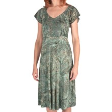 Nomadic Traders Cabana Dress - Short Sleeve (For Women) in Rainforest - Closeouts