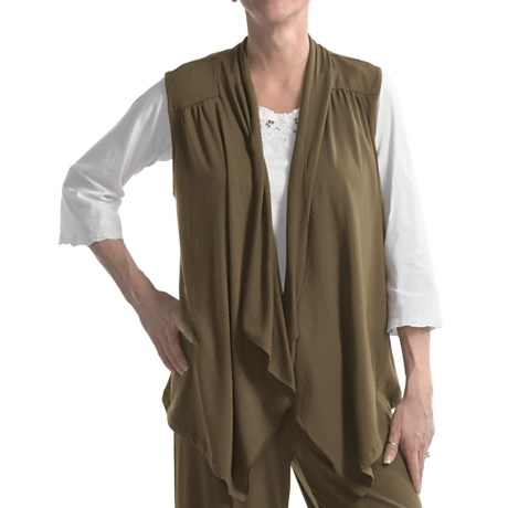 Nomadic Traders Cascade Vest - Stretch Rayon (For Women) in Shale